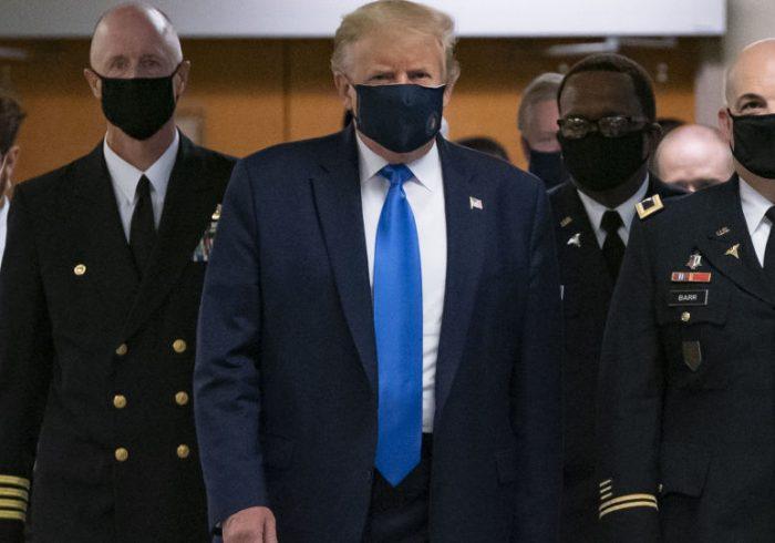 ترامپ در بازگشت از بیمارستان: حالم از ۲۰ گذشته هم بهتر است