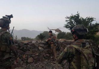 جان باختن ۹ نیروی ارتش در یک درگیری در تخار