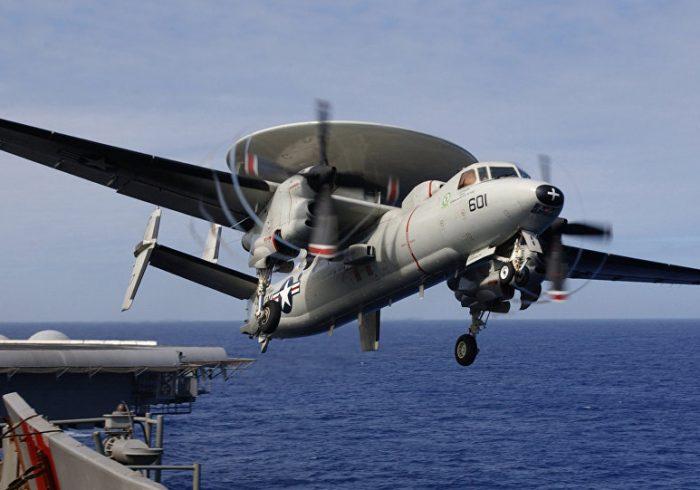 سقوط هواپیمای نیروی دریایی آمریکا در ویرجینیا