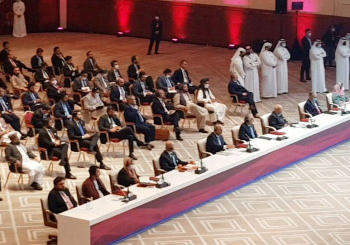 فاطمه گیلانی امروز رسما به گروه مذاکره کننده صلح در قطر پیوست