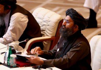 دیدار ملا برادر با نماینده ویژه چین برای افغانستان
