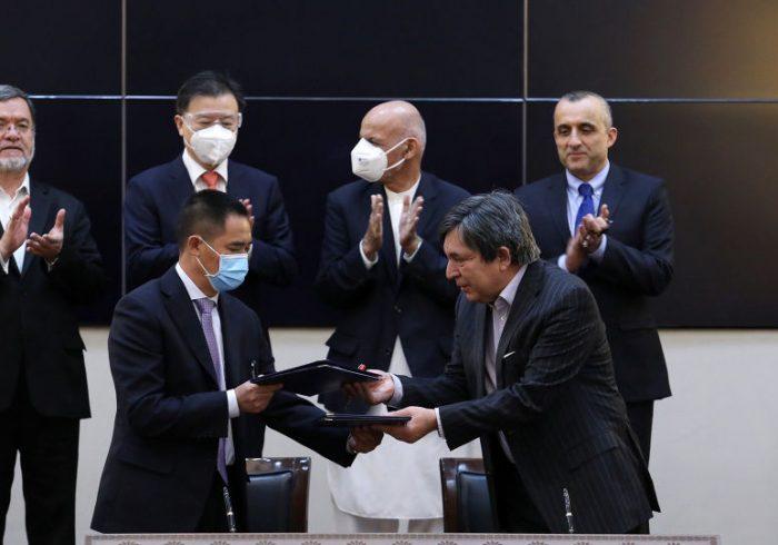 قرارداد ساخت یک هزار و ۴۰۰ واحد مسکونی در کابل با چین امضاء شد