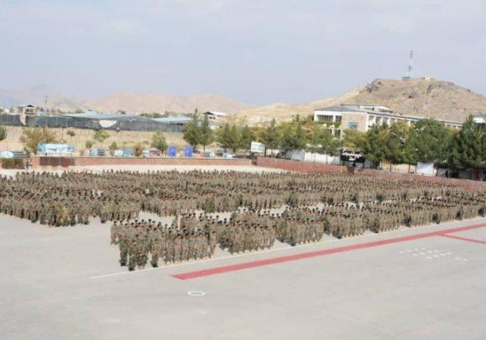 فراغت ۱۰۰۰ تن از سربازان پس از فراگیری آموزش نخستین نظامی