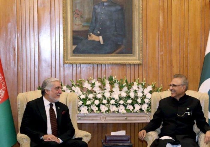 دیدار عبدالله عبدالله با رییس جمهور پاکستان