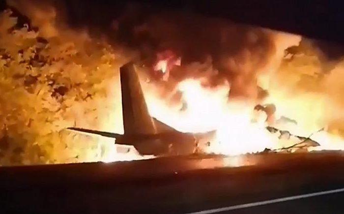 سقوط هواپیمای نظامی در اوکراین ۲۰ کشته برجای گذاشت