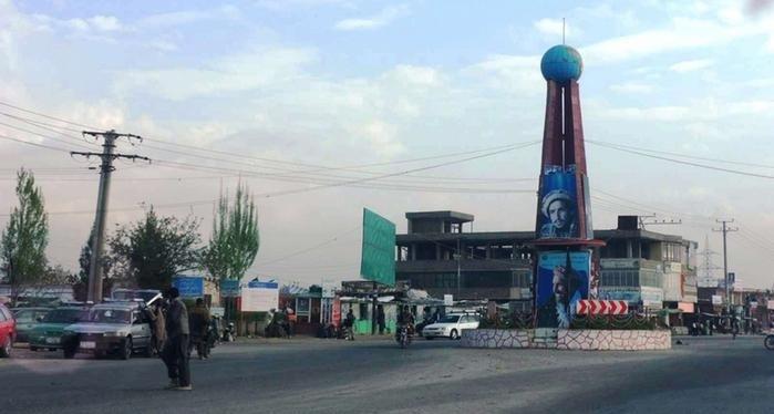 حملۀ آمر کنترل منطقهیی فرماندهی پولیس قرهباغ کابل بر ساختمان این فرماندهی