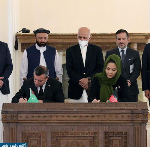 امضای چهار سند همکاری اقتصادی میان افغانستان و ترکمنستان