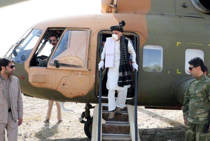 رییسجمهور غنی به ولایت بامیان رفت
