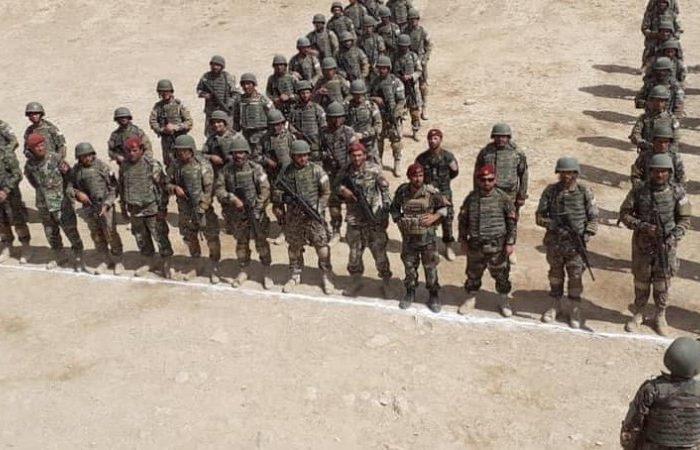 وزارت دفاع از یک مانور نظامی در کابل خبر داد