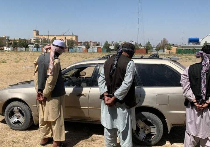 اعضای یک باند سارقین مسلح حرفهای در بلخ بازداشت شدند