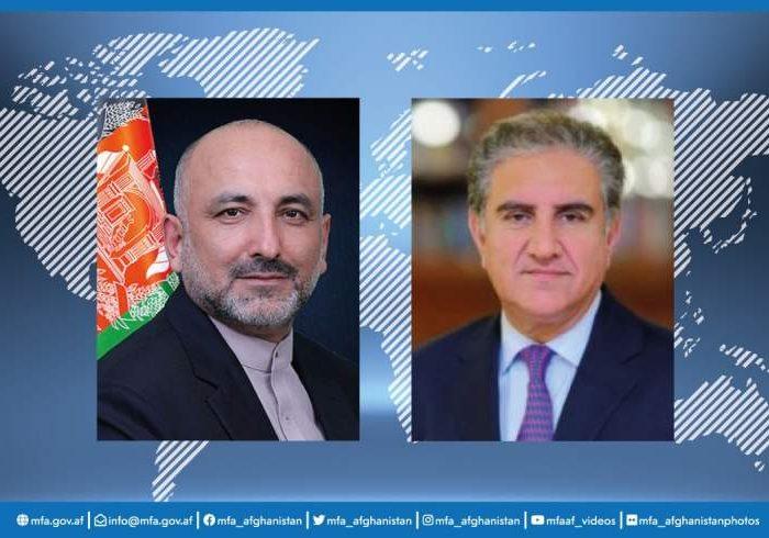 وزیران خارجه افغانستان و پاکستان تلفنی با یکدیگر گفتگو کردند