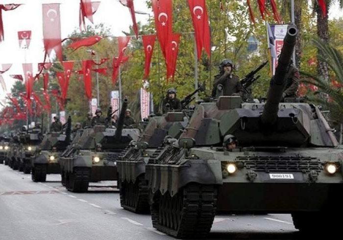 استقرار تانک های ترکیه در سرحد یونان