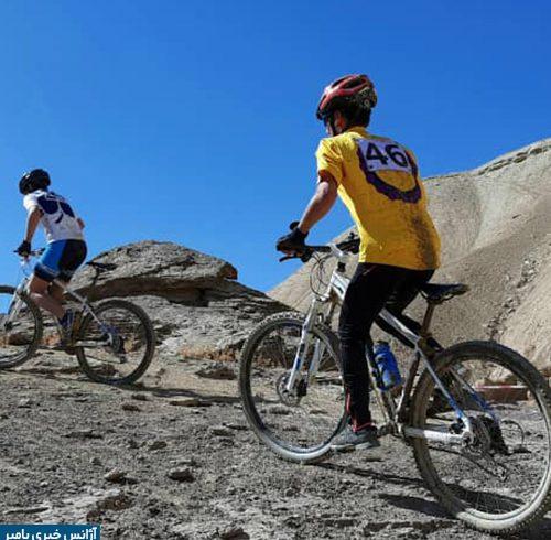 مسابقات بایسکلرانی کوهستانی جام هندوکش در بامیان آغاز شد