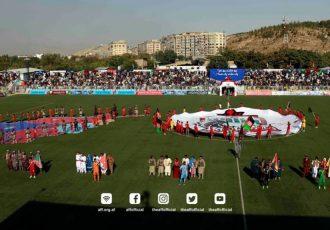مرحله نهایی بازیهای لیگبرتر فوتبال افغانستان فردا برگزار میشود