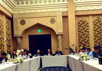 نشست گروههای تماس دولت و طالبان با میانجیگری خلیلزاد