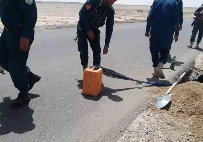 جلوگیری از انفجار چهار ماین در کابل، هرات و خوست