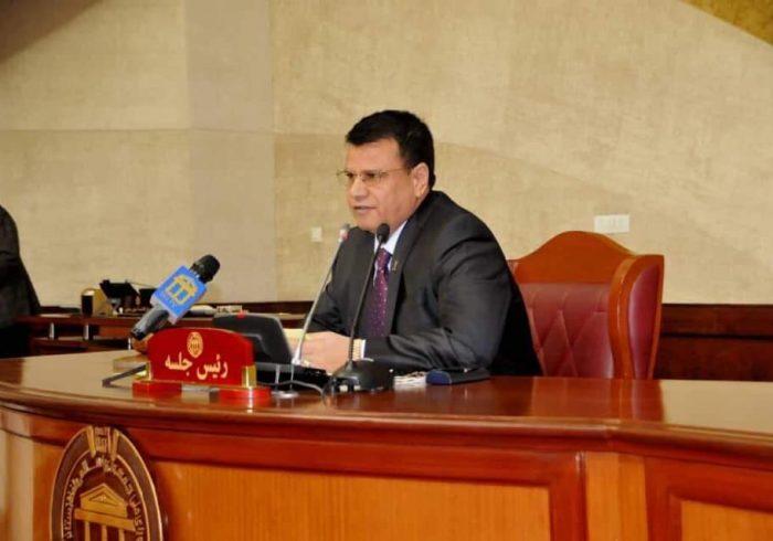 هیئت شورای ملی افغانستان به رهبری میر رحمان رحمانی وارد اسلامآباد شد