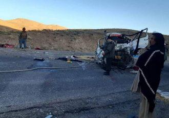 حادثه ترافیکی در هرات ۱۰ کشته برجای گذاشت