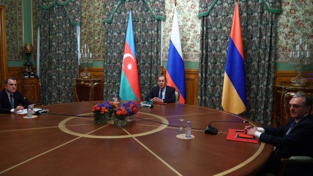 ارمنستان و آذربایجان آتشبس کردند
