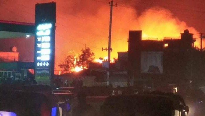 آتشسوزی در بندر امام صاحب کندز ۷.۵ میلیون افغانی خسارت برجای گذاشت