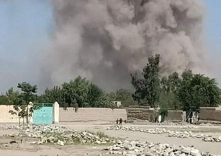 انفجار سهمگین در ولایت ننگرهار/ ۱۸ کشته و ۴۰ زخمی