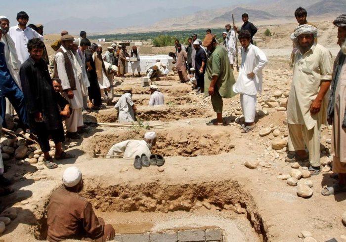 کاهش تلفات غیر نظامیان در افغانستان؛ کشتهشدن ۲۱۱۷ نفر در ۹ ماه
