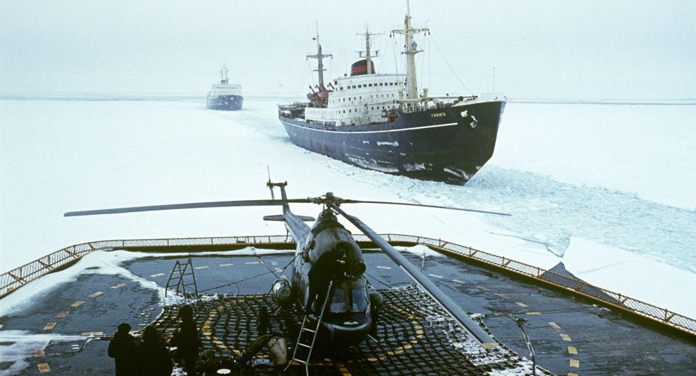 ساخت سه کشتی یخشکن هستهای قدرتمند توسط روسیه
