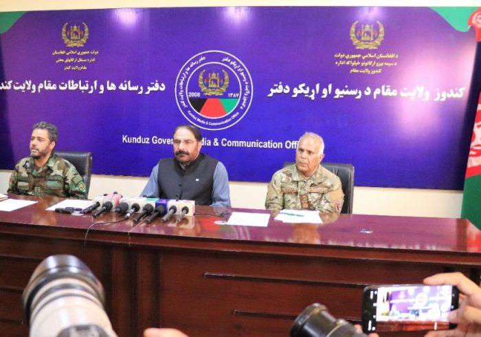 رییس ستاد ارتش: به زودی وضعیت امنیتی کندز بهبود مییابد