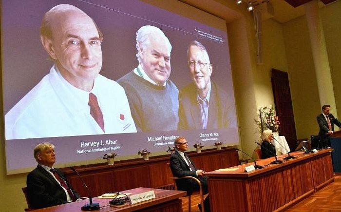 برندگان جایزه نوبل پزشکی ۲۰۲۰ معرفی شدند