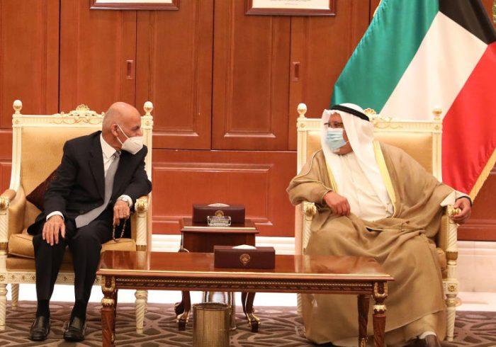 غنی: افغانستان و کویت دو کشور دوست و برادر اند