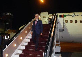 عبدالله عبدالله به کابل برگشت
