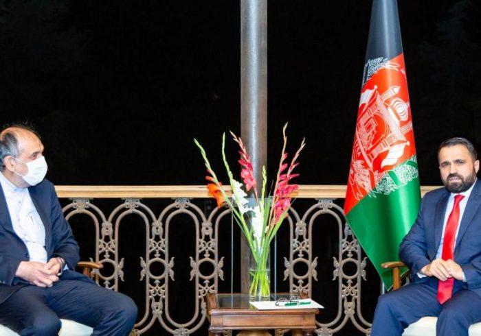 دیدار معین سیاسی وزارت امور خارجه افغانستان با هیات ایرانی درباره ششمین کمیسیون مشترک مرزی