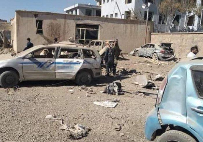 انفجار قوی در مقابل ریاست امور زنان در غور؛ ۱۱۲ تن تاکنون کشته و زخمی شدند