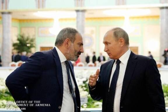 ارمنستان خواستار کمک امنیتی روسیه در جنگ شد