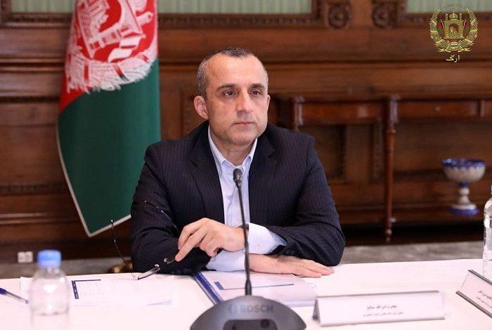 صالح: مردم را علیه «تروریزم طالبانی و داعشی» بسیج میکنیم