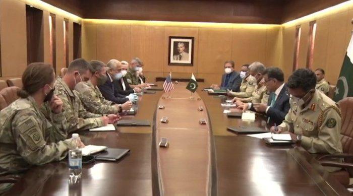 خلیلزاد با ریس ستاد ارتش پاکستان دیدار کرد