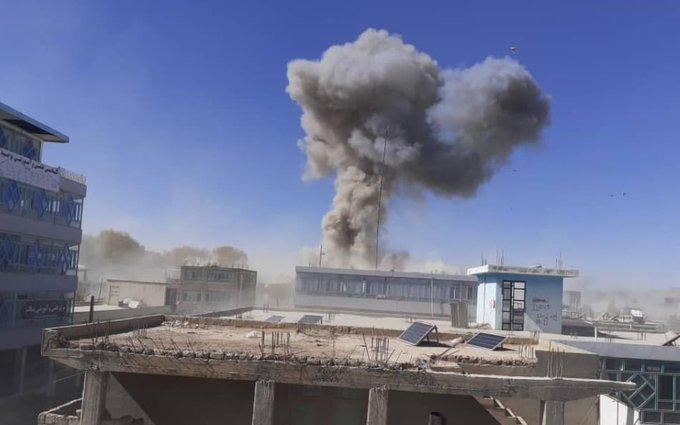 انفجار در نزدیکی فرماندهی پولیس غور