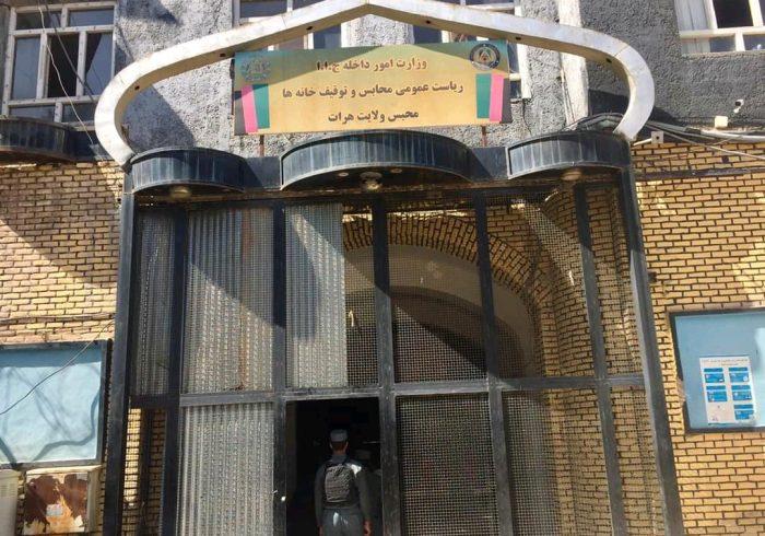 زندانیان زندان هرات شورش کردند