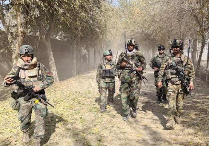 ولسوالی دشت ارچی قندوز از حضور طالبان پاکسازی شد