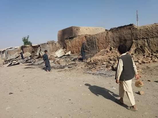 انفجار در المار فاریاب؛ کشته و زخمیشدن ۲۴ نفر و ویرانی دهها خانه و دکان