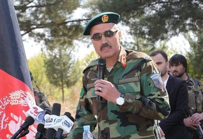 ودود خان نجرابی، فرمانده لوای هفتم سرحدی تخار در انفجار ماین در کندز جان باخت