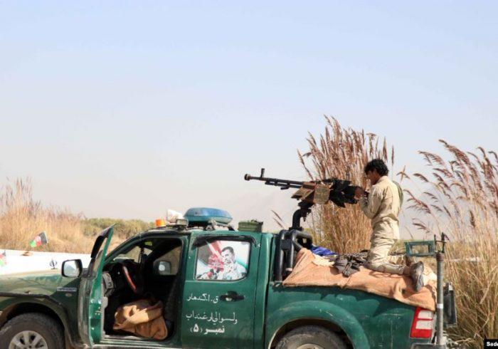 پاکسازی کامل ولسوالی ارغنداب قندهار از وجود طالبان