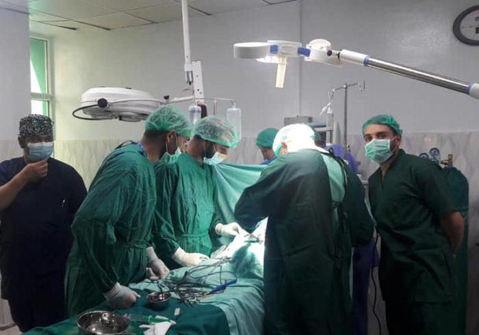 اولین عملیات قلب در شفاخانه صحت طفل اندراگاندی موفقانه صورت گرفت