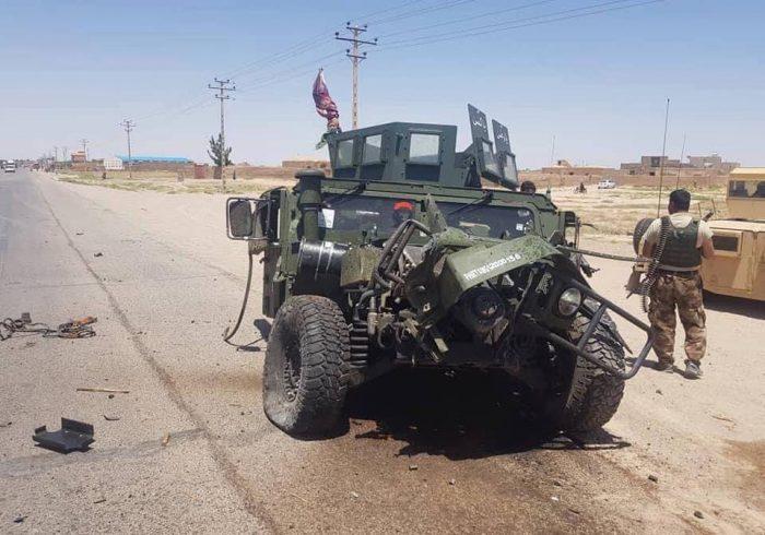 هفت پولیس محافظت عامه در هرات زخمی شدند