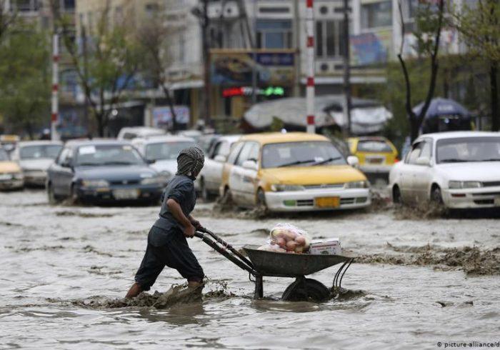 هشدار درباره احتمال بارندگی و سیل در ۱۷ ولایت