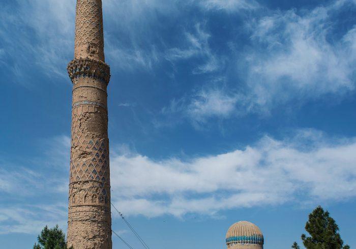 بنیاد آغاخان منار پنجم مصلای هرات را بازسازی میکند