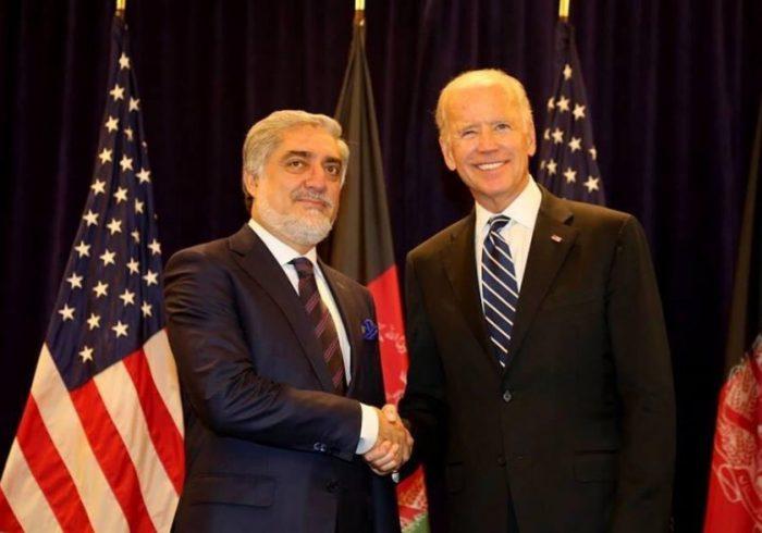 عبدالله عبدالله پیروزی جو بایدن را تبریک گفت