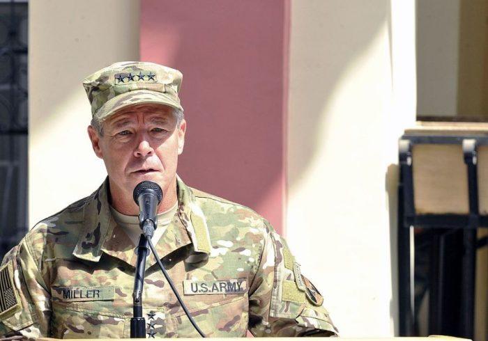 اسکات میلر: تخلیه پایگاههای نیروهای خارجی در افغانستان آغاز شده است