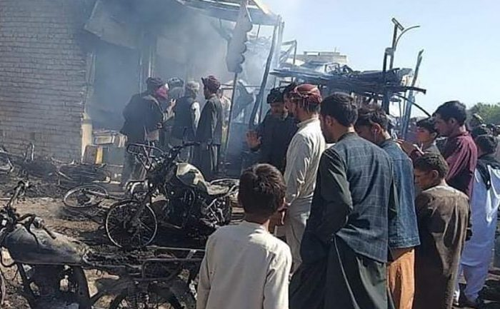 آتشسوزی در فاریاب؛ یک کشته و چهار زخمی