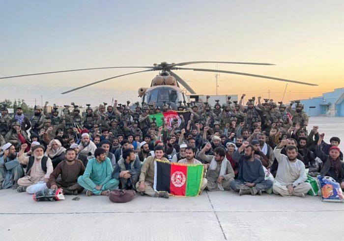 آزادسازی بیش از ۶۰ نفر از زندان طالبان در بغلان